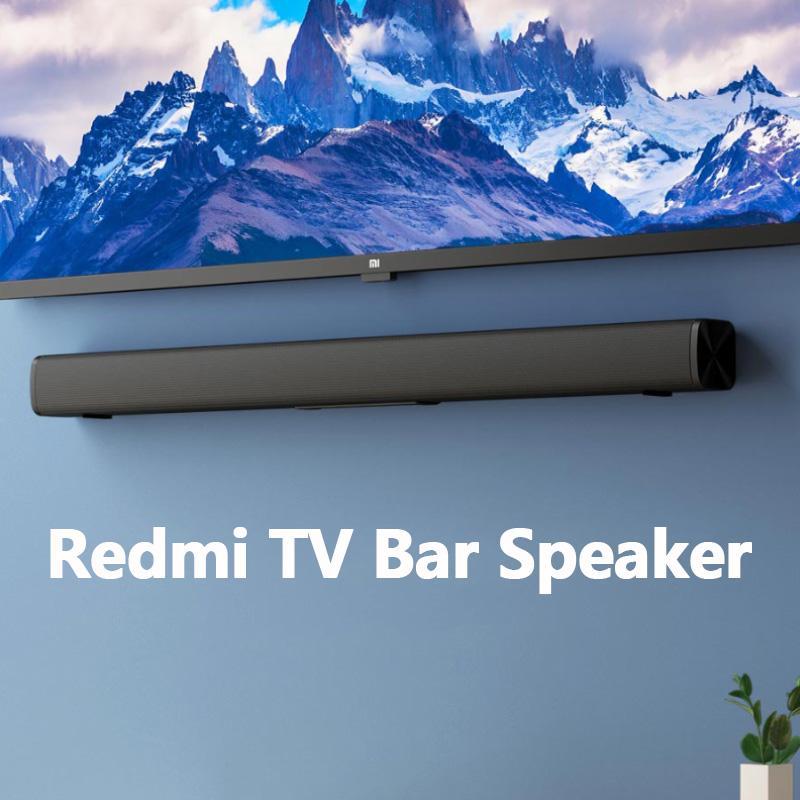 PC 극장 보조 3.5mm의에 대한 샤오 미 Youpin Redmi TV 바 스피커 유선 및 무선 30W 블루투스 5.0 홈 서라운드 사운드 바 스테레오