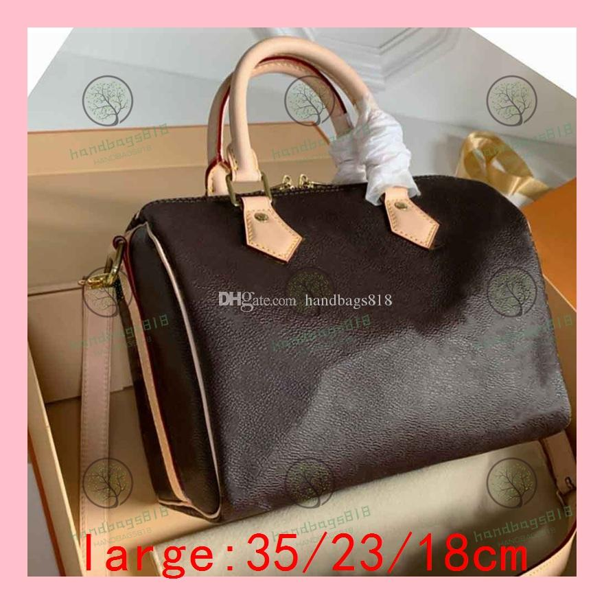 Speedy  bags handbag حقائب الكتفين للسيدات حقيبة Fast Bag Lady's Fast Bag حقيبة اليد غير الرسمية حقائب المصمم حقائب التسوق