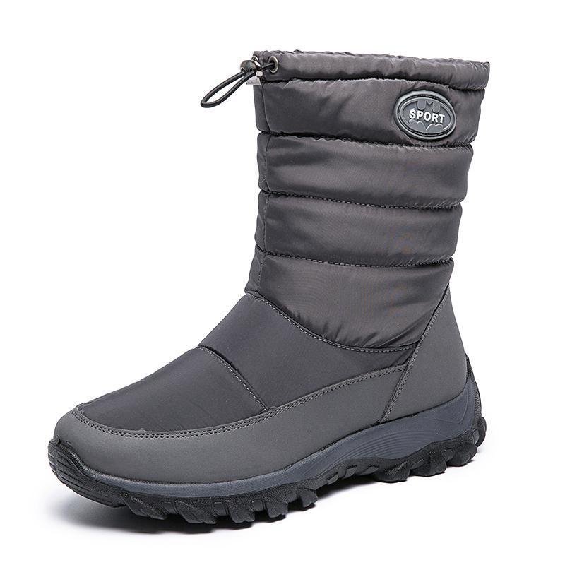 Kadınlar Kar Boots 2020 su geçirmez Kadınlar Boots Sıcak Peluş Bilek Moda Düz Platformu açık Günlük Kış Ayakkabı