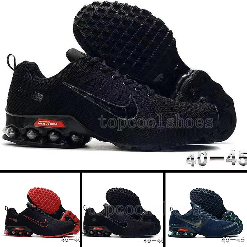 2021 new fashion air cushion shoes men sports shoes breathable high elasticity comfortable non-slip outdoor running shoes