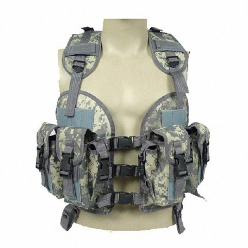 2017 Men's Clothing Casual Field activities camouflage vest With Mluti-pockets Regular Men's Camouflage Vest Two Colors One Size uUiS#