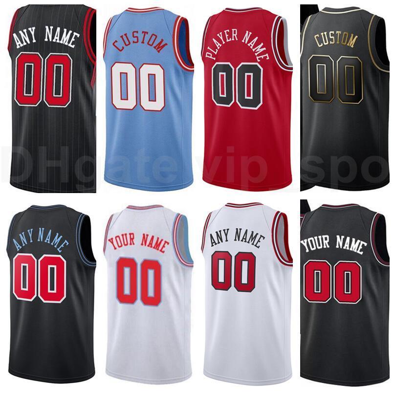 Tela imprimir basquete Brian Scalabrine jersey steve kerr toni kukoc tony snell john paxson vermelho preto branco azul casa homens mulheres crianças