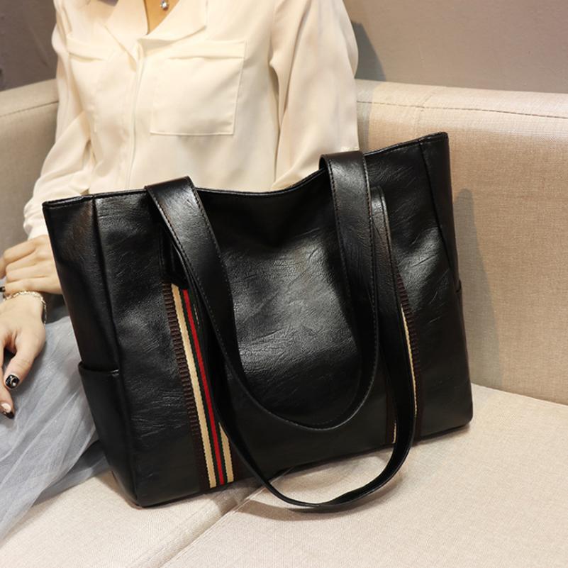 2020 Brand Designer Luxury Fashion Women Shoulder Black Hobos Handbag PU Leather Female Big Shopping Tote Ladies Hand Bags Q1230