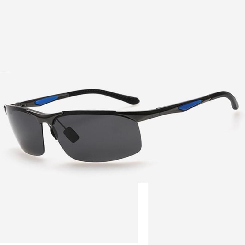 Алюминиевые мужские поляризованные мужские солнцезащитные очки, вождение новых модных очков очки солнцезащитные очки дизайнер солнцезащитные солнцезащитные очки Polaroid FHJQA