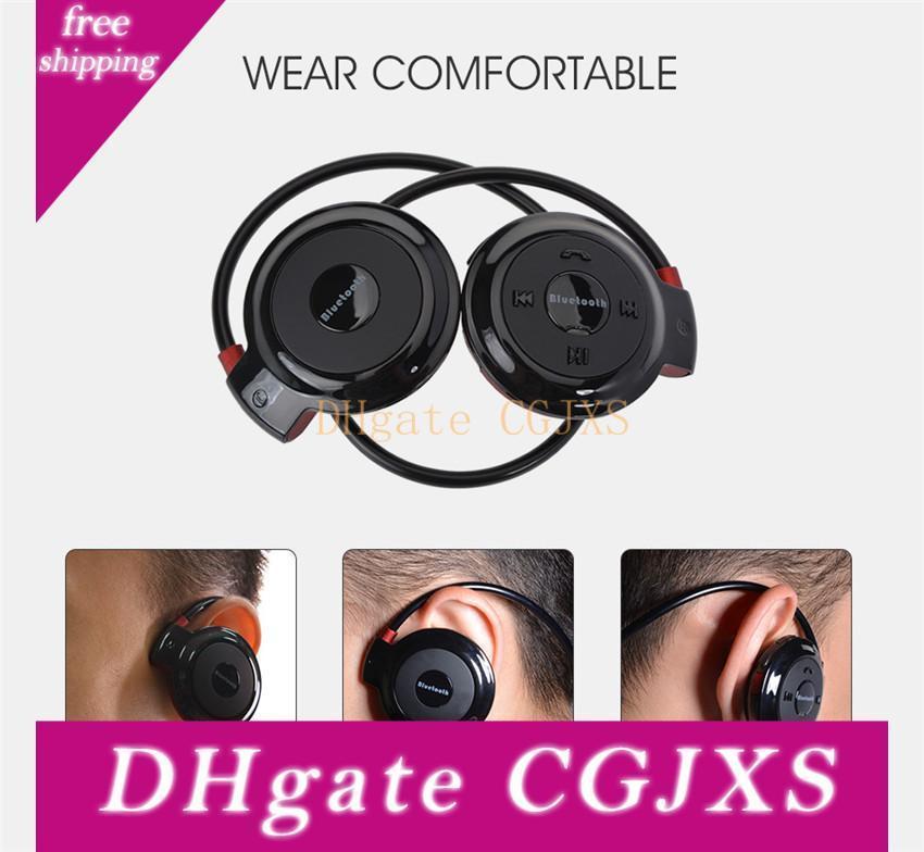 Mini -503 drahtlose Bluetooth-Stereo-Kopfhörer-freihändige Sport-Musik-Kopfhörer-Kopfhörer für Iphone 6 Plus Samsung Galaxy S6 S5 Anmerkung 4 Om -Cc2