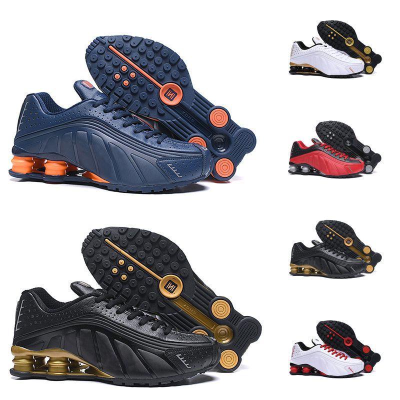 R4 Yeni OG Koşu Ayakkabıları OZ NZ 301 Teslim Üçlü Siyah Beyaz Mavi Gümüş Kırmızı Kadın Erkek Trainer Ourdoor Atletik Spor Sneakers 36-46
