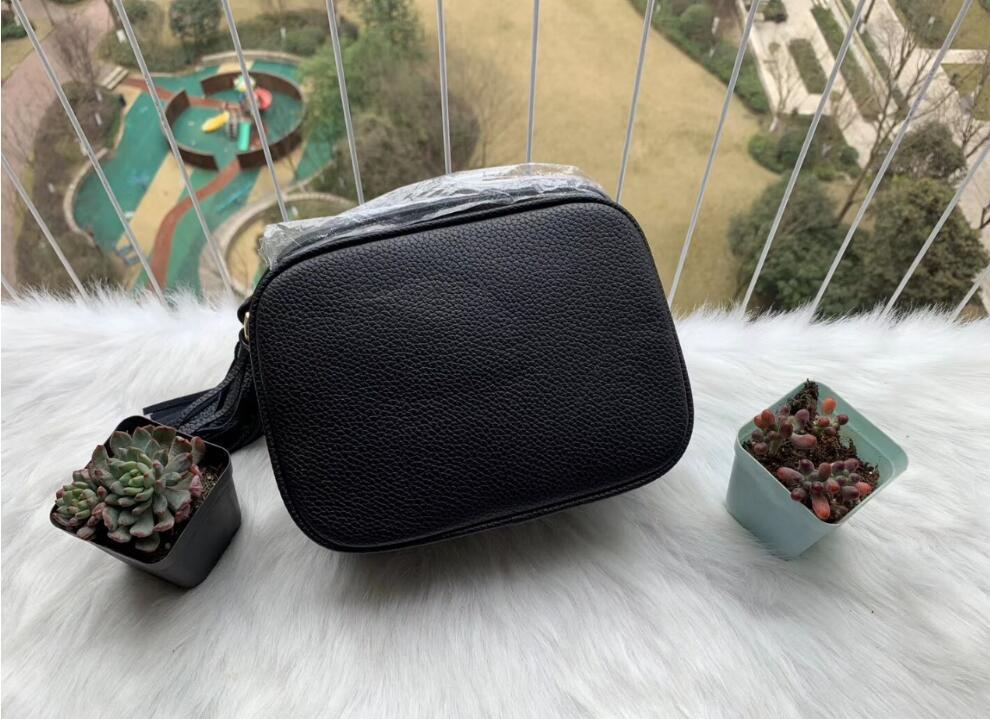 Neue Stil Weibliche Crossbody Tasche Womens Mode Leder Soho Taschen Disco Umhängetasche Geldbörse Handtaschen mit Staubbeutel T-Q2Q0DD3