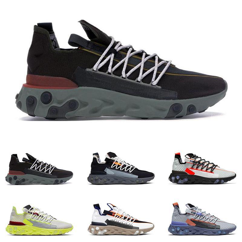 2019 nuovo arrivo Reagire WR ISPA uomini donne scarpe fantasma Aqua lupo grigio platino Volt Summit Mens bianco scarpe da tennis di sport di moda trainer running