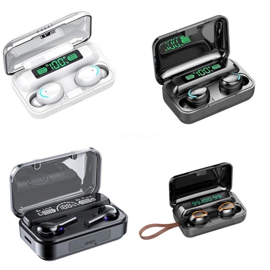 DT-2 TWS Kablosuz Kulaklık Bluetooth 5.0 Dokunmatik Kontrol Kulaklık Su geçirmez Gaming Headset 3D Stereo Kulaklık ile mikrofon # 666