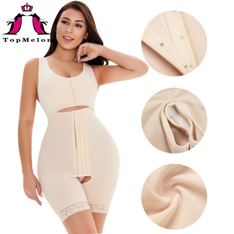 Femmes Shapewear Body Body Shaper Panty Panty Fajas Après la chirurgie Post Post Compression Compression Crochets à levier de rechange