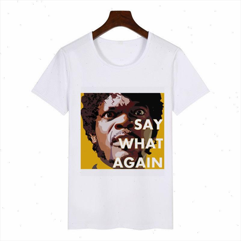Neue Sommer Mode Pulp Fiction Poster 1994 Quentin Tarantino T-Shirt Frauen O Hals Schieber Sleeve T-shirt T Shirts Tops