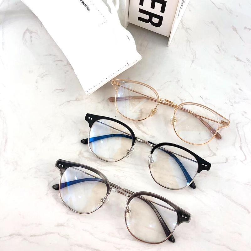 كوريا العلامة التجارية نظارات إطار بصري إطارات النظارات الطبية GM نظارات شمسية نسائية للرجال GENTLE اليو إطارات قصر النظر