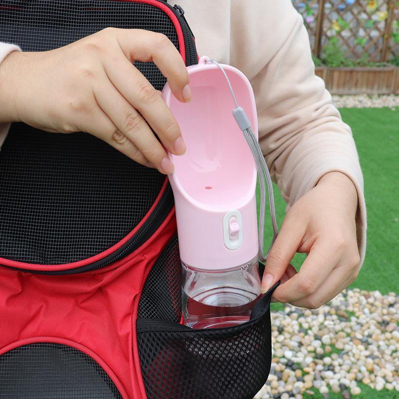 Портативная собака для собак бутылка для воды щенок кошка питьевой воды чаша еда питание для небольших больших собак кошек открытый путешествие питомца BBYBXV