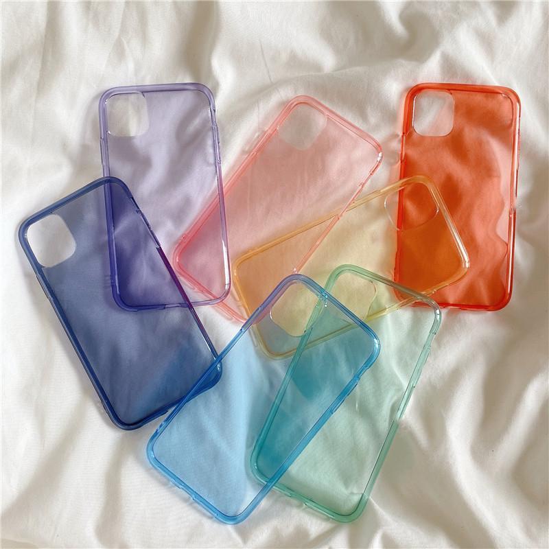 Luxus Stoß- Silikon-Telefon-Kasten für iPhone 11 Pro X XR XS MAX 6 6s 7 8 Plus Fall Transparente Schutz-rückseitige Abdeckung Abdeckungen