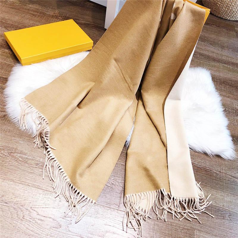 Men Women Scarfs With Colorful Pattern Autumn Spring Winter Warm Scarves Unisex Wraps Four Colors Options Wool Quality