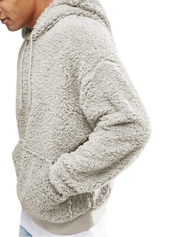 Jersey de felpa de peluche de felpa de felpa de felpa europea y americana de estilo hot.