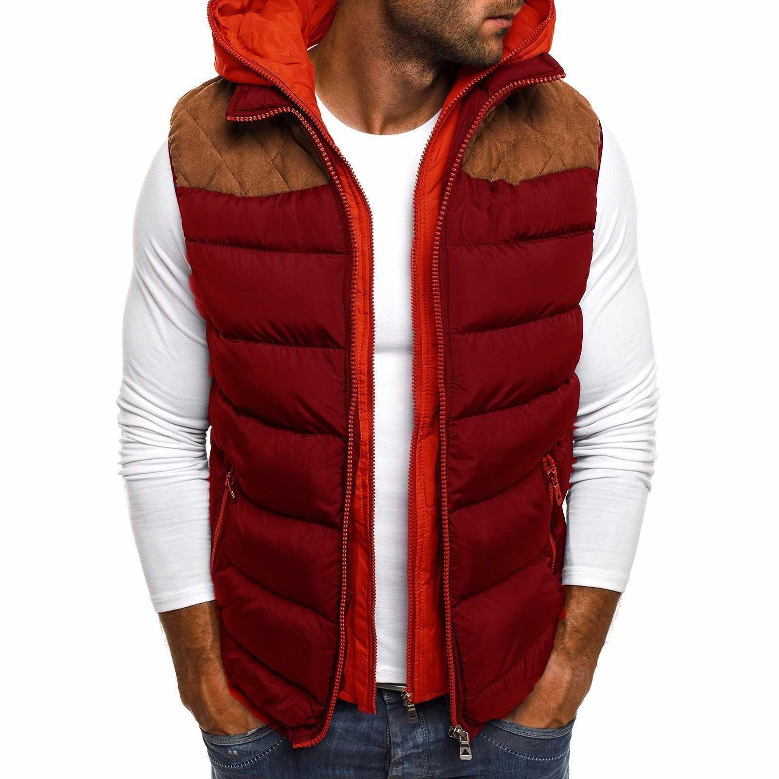 Veste de coton à capuche d'hiver européen d'hiver