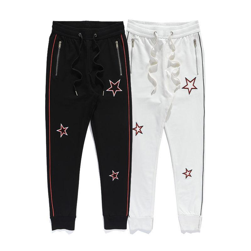 Men Women Joggers Sweatpants 2020 Fashion Mens Autumn Winter Embroidery Star Track Pants 20ss Womens High Quality Street Sports Trousers