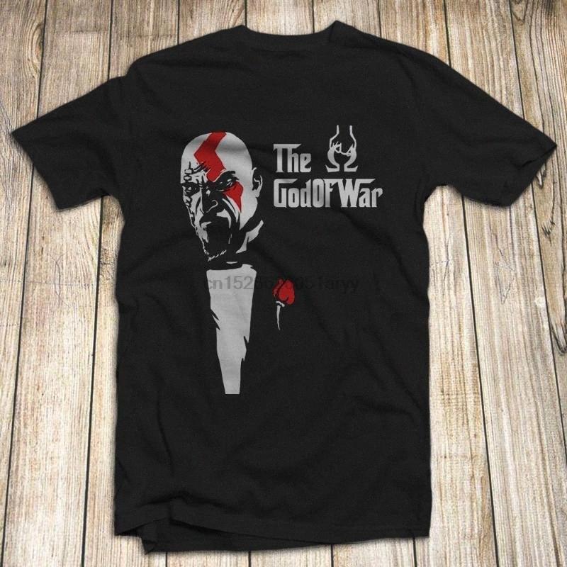 Dios de la guerra camiseta de los hombres 100% algodón S-5XL Hecho en EE.UU. Kratos fantasma de SpartaCool orgullo casual hombres de la camiseta unisex de la manera camiseta na5k #