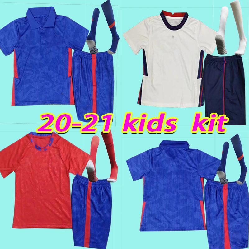 Новый 20 21 детский комплект Kane Home Soccer Jersey 2020 2021 футбол футболка для футбола