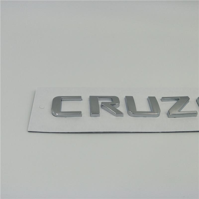 Accessori auto per Chevrolet Cruze Tronco posteriore Lettere Emblem Logo Sticker