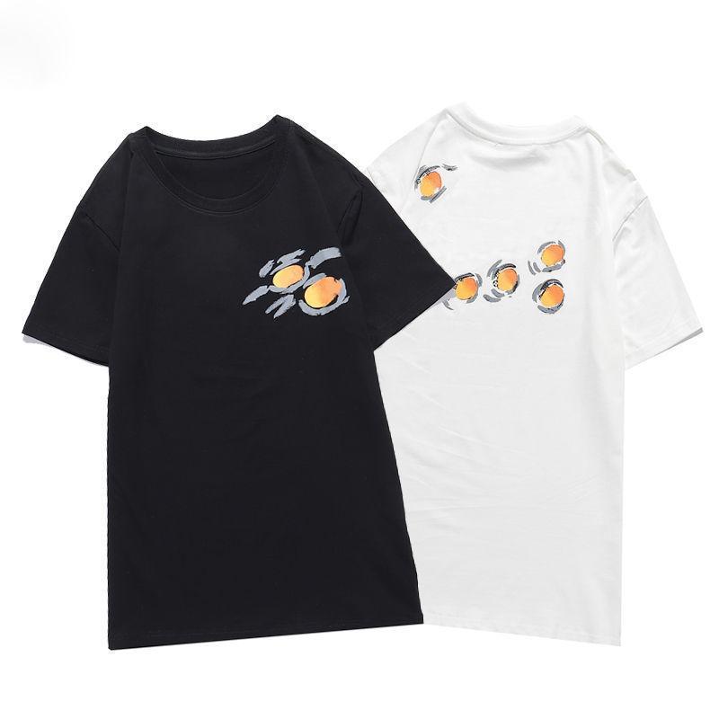 Hommes T-shirt Famous Hommes Femmes Classique Œuf Imprimer été Mode Chemises Streetwear à manches courtes Taille S-2XL
