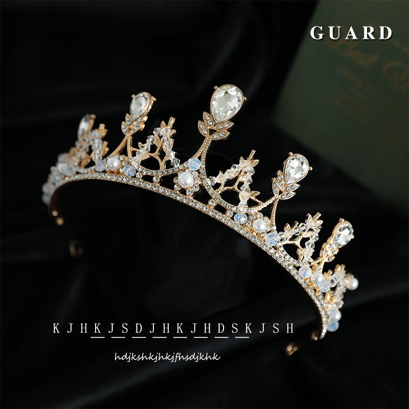 2020 nouvelle coiffe de mariée mariage femme de 18 ans, couronne de cérémonie d'initiation