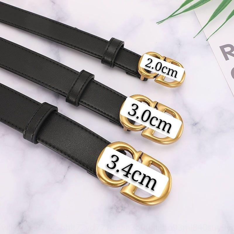 0GzJ For Alloy diner belt Smooth Style Girls Automatic H Belt luxuryigh designer Quality CDBelts For Women S Casual H Tactical CD Belt wg Je