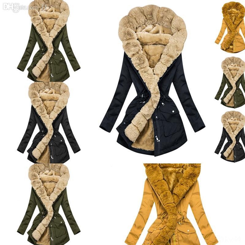 RTSLM Girls Laveren Anni Cappotto uomo Cappotto per bambini Cappotto invernale per cappotto Girls Top Vecchio Collare di pelliccia di qualità