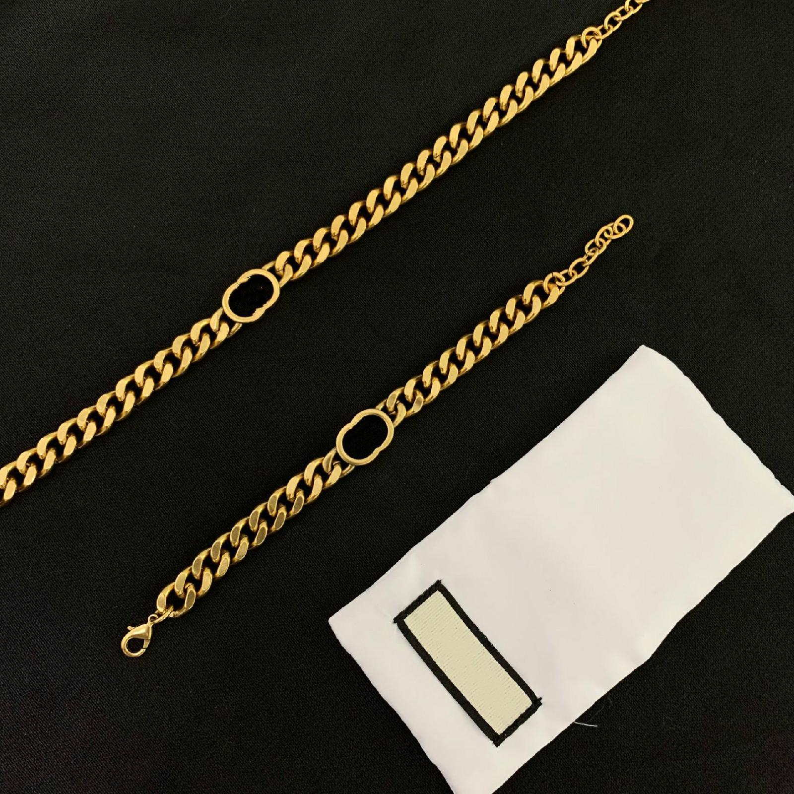 2021 Neue Ankunft Heiße Messing Materialkette mit Retrostil Für Mann Halskette Liebhaber Schmuck Weihnachtsgeschenke