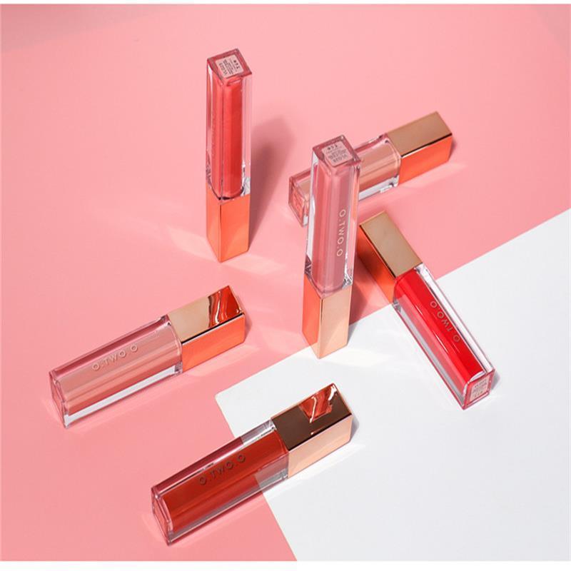 O.TWO.O Velvet Matte Liquid Lipstick 12Colors Lip Краска водонепроницаемый долговечны увлажняющий крем блеск для губ Rouge Пигмент Губы Макияж