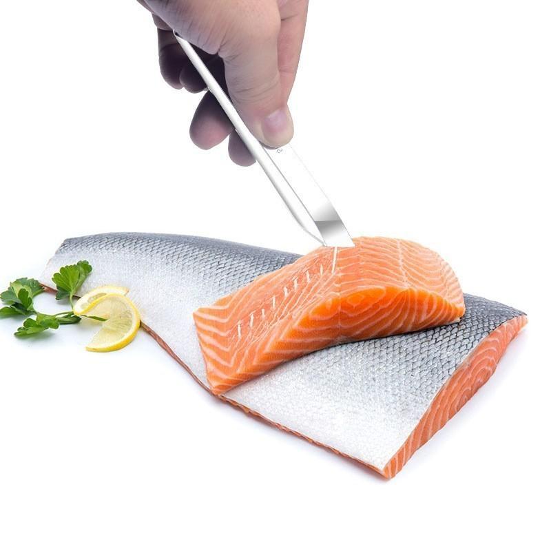 rostfreie Fischskalen Scraping Graters Schneller Fisch Reinigung Peeler Scraper Fischgräte Pinzette Küche Zubehör Werkzeug gadge entfernen