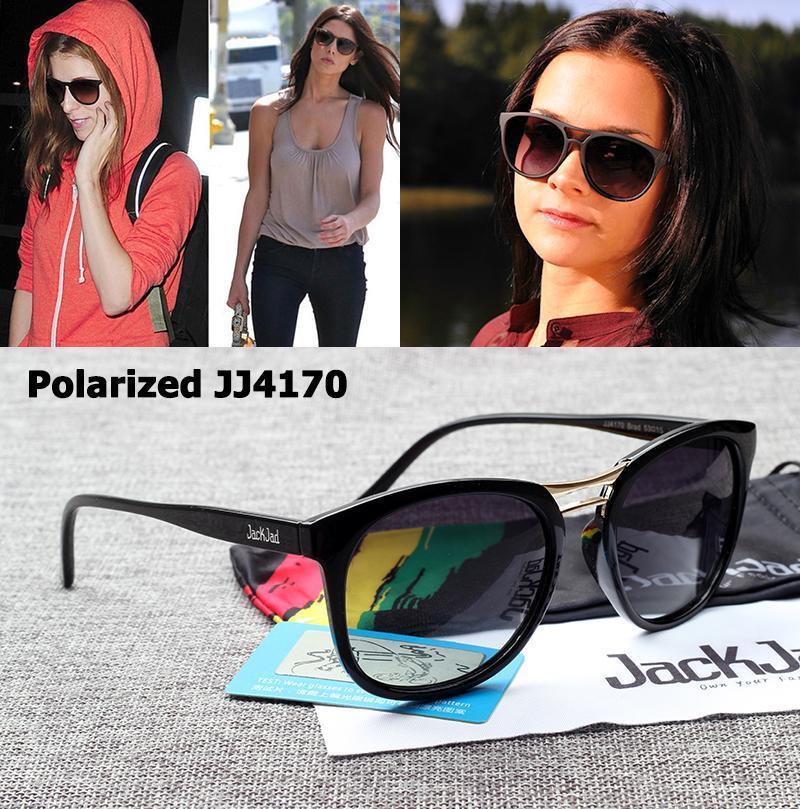 Yeni Marka Kadın Polarize Brad Feminino Degrade Güneş Gözlüğü Jackjad Tasarım Güneş Moda JJ4170 Oval Gözlük Stil MQNMG