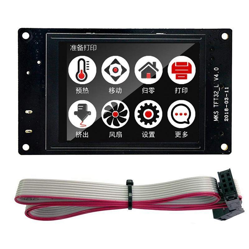 für Mks Tft32 3.2Inch Vollfarbdruck Sn 3D Printer Controller Board Support App / Bt / Bearbeiten / Multi-Language