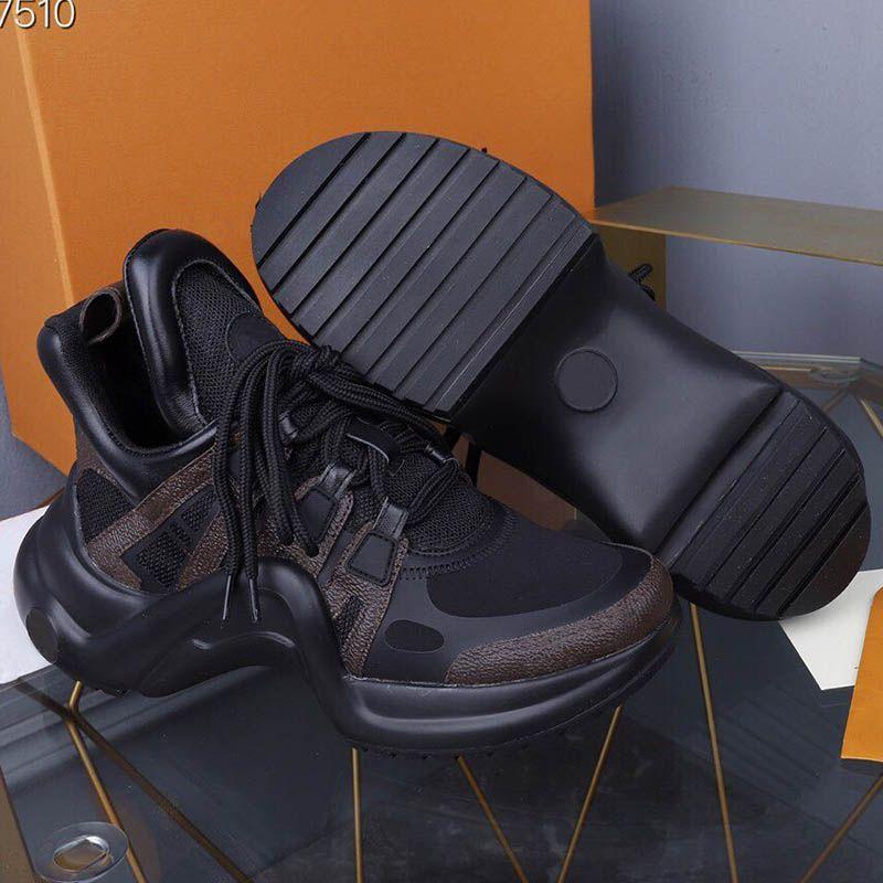 Siyah Sneakers Kadın Ayakkabı Lüks Tasarımcı Ayakkabı Marka Yüksek Kalite Moda Rahat Kadın Ayakkabı Boyutu 35-41 Model CL013