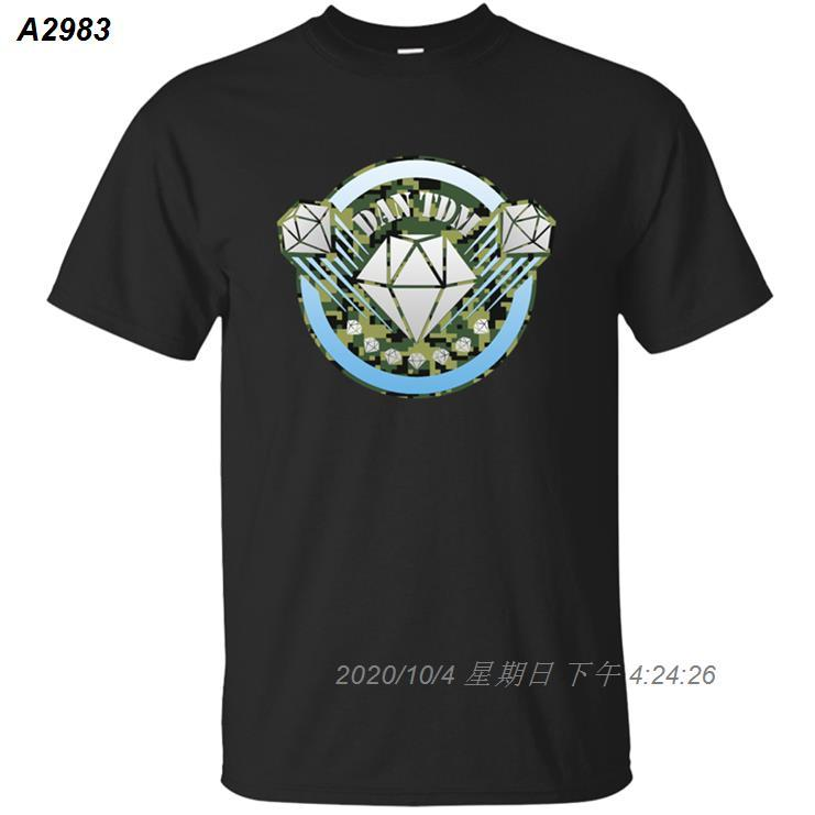Хлопок Юмор Дэн Tshirt Для TDM Мужчины 2019 Солнечный свет плюс размер 3XL 4XL 5XL Фотографии Tee Shirt Anti-Wrinkle Tee Top Fashion 543510