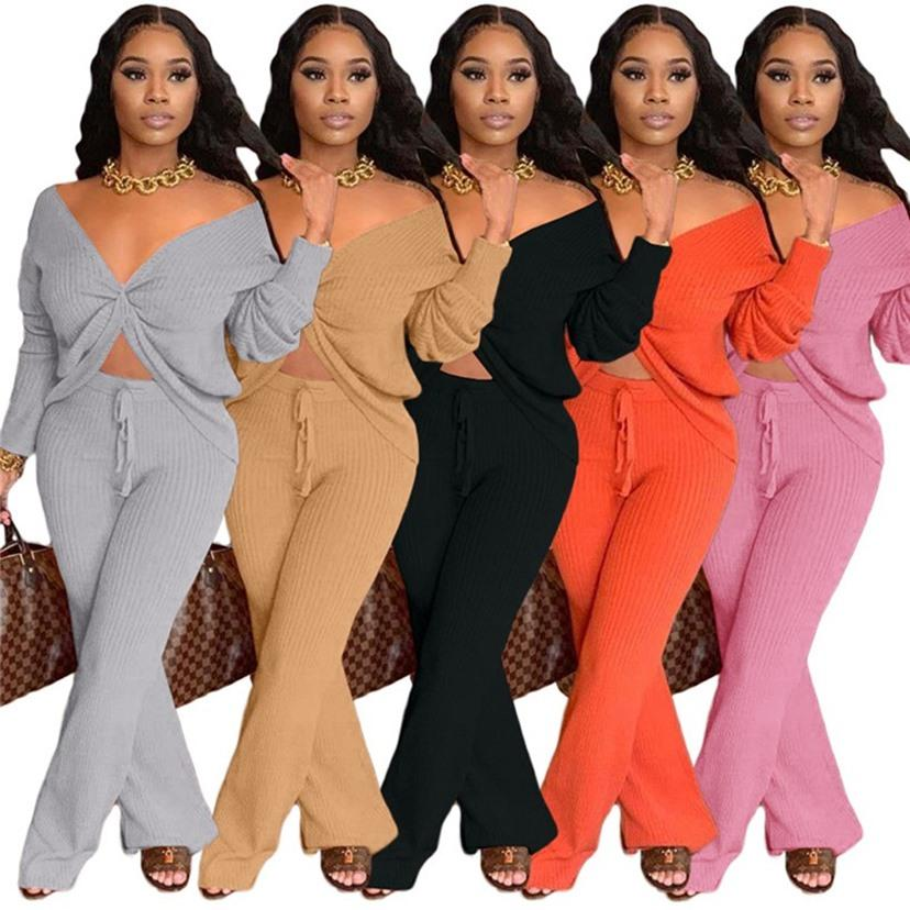 Women fashion outfits tracksuit outfits jogging pullover trousers two piece set tracksuit sportsuit bodycon sweatshirt sexy klw5150