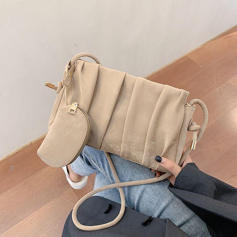 Borsa da donna in pelle Crossbody PU Pack High Lady Bag Color Luxury Handbag Qualità Donne Messenger Solid 2020 Spalla C1020 Bamng