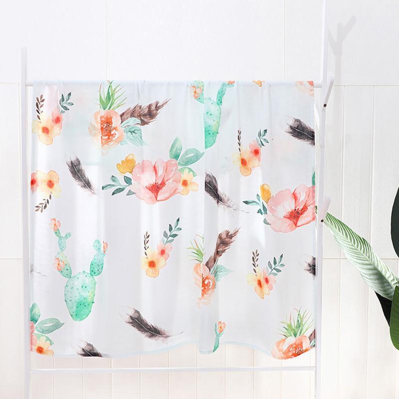 Muslin Kundak için 100% Bambu Battaniyesi Bebek Yumuşak Bebek Battaniye Alma Y201001