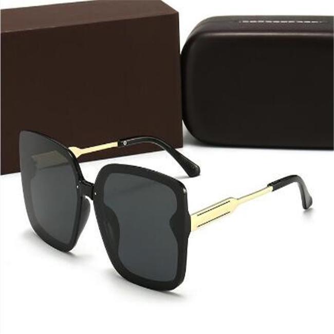G4286 Moda Marca polarizada Su Caja que conduce Sin gafas de sol para Vidrio Verano Mens de lujo Nglases Diseñador Wsili