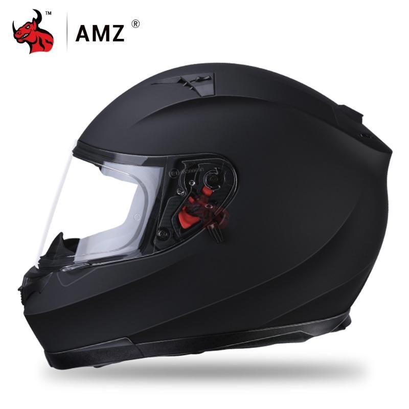 AMZ Motorcycle Helmet Racing Riding Motorbike Helmet Capacete De Moto Men Motocross Full DOT Certification Casco Moto