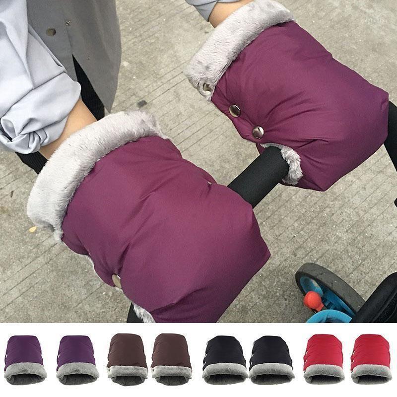 Winter Warm Stroller Gloves Pushchair Hand Muff Waterproof Warm Thick Gloves Mittens Baby Carriage Stroller Accessories1