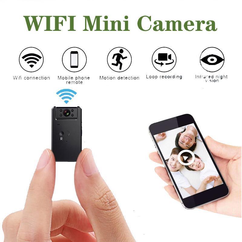 미니 카메라 Jozuze 카메라 와이파이 스마트 무선 캠코더 IP 스팟 HD 야간 비전 비디오 마이크로 소형 캠 모션 탐지 홈 보안