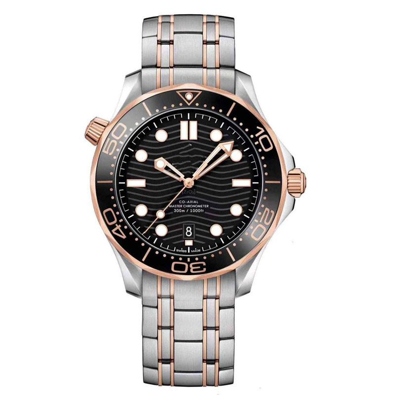 Mens Watch Automatic Mechanical Watches for Men Fashion Stainless Steel Strap Folding Buckle High Quality Wristwatches Analog Dial