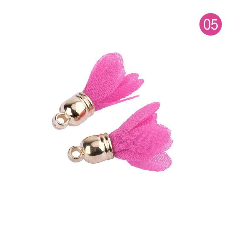 30 pcs mini tampão de metal borlas para boho jóias diy artesanato fazendo suprimentos bracelete colar brinco encontrar acessórios h jllaii