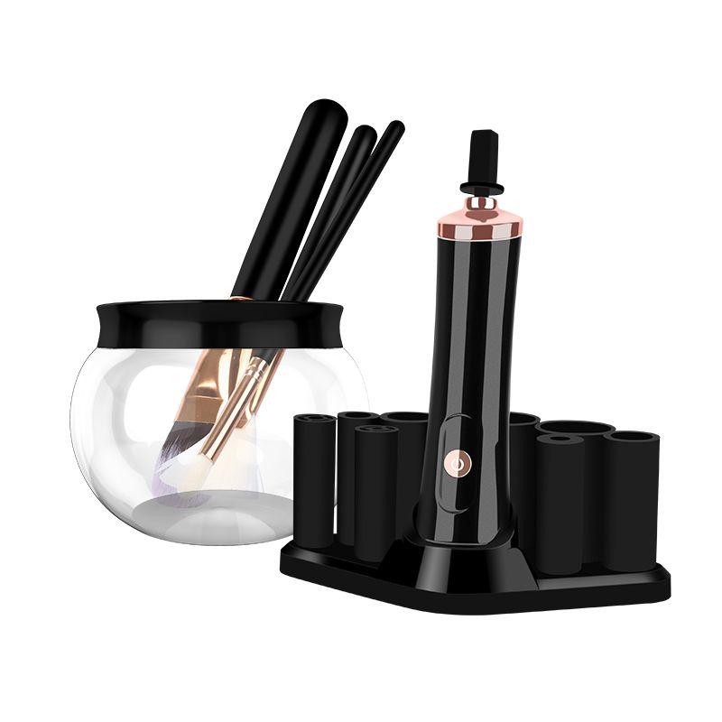Máquina de limpieza de pincel de maquillaje eléctrico directo de fábrica RoHS CE CEPETICOS COSTICETICOS AUTOMÁTICOS KIT Lavado de limpieza y secadora Juego de herramientas DHL gratis