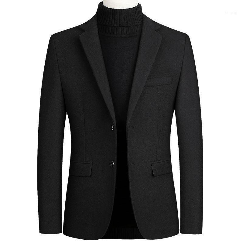 Situación de mezclas de lana para hombres, chaqueta de cachemira, abrigo de invierno, traje de abrigo, traje de invierno, chaqueta de invierno, abrigo de hombres