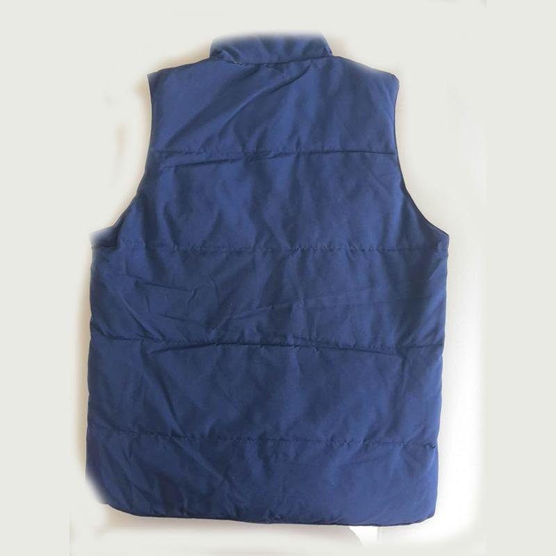 Горячие Продажи Мужской Даун Жилет Пальто Человек Куртки Новое Прибытие Зимняя Теплая Одежда