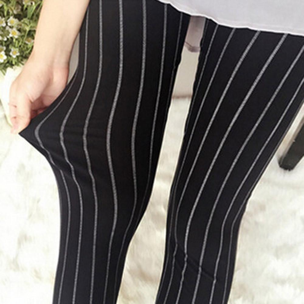 vertical, listrado Leggings cintura alta Push Up Leggings 2.017 novas Leggins Mujer Bayan Tayt aptidão Feminino #OR