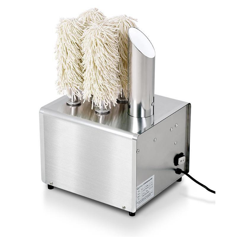 Commercial máquina de limpeza de vidro elétrico automático polimento copo de vinho tinto máquina do hotel bar restaurante de limpeza